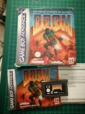 DOOM- NINTENDO GAMEBOY ADVANCE GBA GAME Supplied by R&R