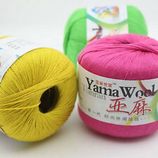 SHADED Thread Yarn Mercerized Knitting Crochet Lace Embroidery Soft Milk Cotton