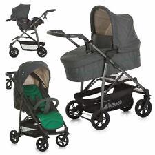 Hauck Kombi Kinderwagen Buggy Set Rapid 4S Plus Trioset mit Babyschale - Emerald