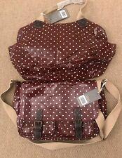 National Trust Bag Set (PVC coated canvas oil cloth finish) NWT Burgundy 💋