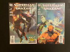 Superman First Thunder Shazam! 1-4 High Grade DC Lot Set Run CL56-45