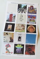 Apple Beatles PROMO POSTER replacement- BOX SET LET IT BE and APPLE RECORDS MINT