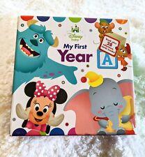 Disney Baby My First Year Book Plus 28 Milestone Cards