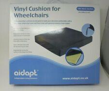 """AIDAPT Vinyl Cushion For A Wheelchair 18 x 16 x 3"""" BNIB Memory Foam VGC (C3)"""