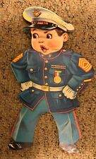 Vintage Halco Toy By J. Halpern USA Lil Marine Package