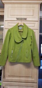 Ladies Green Jacket Size M  Per Una M&S