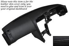 BLACK LEATHER DASH DASHBOARD SKIN COVER FITS NISSAN SKYLINE GTS GTR R33 93-98