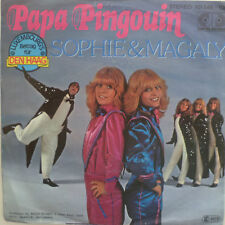 "7"" Grand Prix 1976 (Lussemburgo) Sophie & Magaly: papà Pingouin"