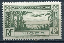 TIMBRE NIGER  NEUF *  N° 3 PA   POSTE AERIENNE AVION
