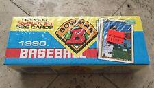 1990 BOWMAN BASEBALL - COMPLETE SET - 528 CARDS - FACTORY SEALED - THOMAS RC