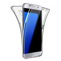 SDTEK Coque pour Samsung Galaxy S7 edge Silicone 360 Degres Protection