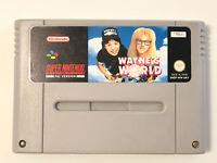 SNES Waynes World Game Super Nintendo Original PAL