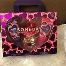 Justin Bieber Someday Gift Set Eau de Parfum 1.0 oz Lotion 1.7 oz & Wash 1.7 oz
