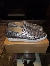 61206bca170 Christian Louboutin Fashion Sneakers Silver Casual Shoes for Men for sale