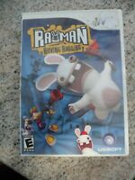 Rayman Raving Rabbids (Nintendo Wii, 2006) Video Game Complete