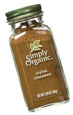 Simply Organic Ground Ceylon Cinnamon 1-Pack