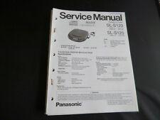 Original Service Manual Panasonic SL-S120 SL-S125