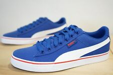 Puma 1948 Vulc CV Unisex Canvas Shoes Trainers Size UK 6.5 / EU 40 Blue (MBY)
