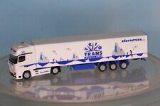 "WIKING Piste N-modèle 1:160 40 FT C : Cont /""Trans-Europe/"" NEUF! M - sattelz n50"