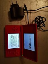 Nintendo DS lite in rot