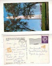 1965  Postcard - Washington Monument   stk#taaB