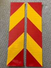 3M Diamond Grade Red & Yellow  Chevron  Safety Reflective Tape HGV Truck