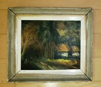 PEDRO GALARZA DURÁN OIL PAINTING SIGNED