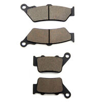 Front + Rear Brake Pads for BMW F 650 GS Dakar (99-07) F 650 CS Scarver (00-07)