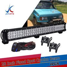 28INCH LED LIGHT BAR Off road Truck Polaris ranger 900 Ford ATV Honda Dodge 2500