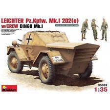 Miniart 35082 verano luz pz. Kpfw Mk. I 202 (e) con tripulación Dingo Mk. I 1/35 Escala Kit