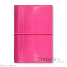 Filofax Domino Patent Personal Size Diary Organiser - Hot Pink (022481)