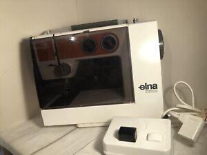 Elna Lotus TSP Model 52 Compact Sewing Machine WORKING