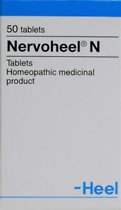 HEEL Nervoheel N Homeopathic Tablets Anxiety Stress Reliever Insomnia 50 Tabs