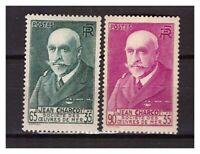 S24510) France 1938/41 MNH J.B.Charcot 2v Y&t 377/77A