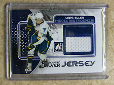10-11 ITG H&P Heroes Prospects LARS ELLER Game-Used Jersey Silver /30