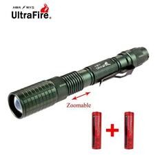 Ultrafire Zoomable  X-XML T6 20000 LM LED Flashlight 18650 Battery Torch  GA