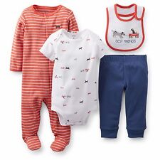 "Carter's 4-piece Outfit Set, ""Best Friends"" (Dog) – GBC-120, Size: 3 months"