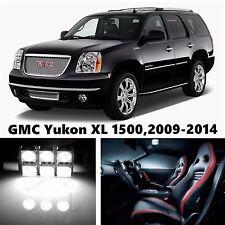 15pcs LED Xenon Whit Light Interior Package Kit for GMC Yukon XL 1500,2009-2014