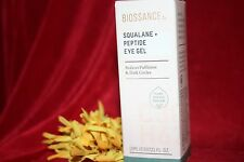 BIOSSANCE SQUALANE + PEPTIDE EYE GEL PUFFINESS  FULL SIZE .5 OZ 0.5 AUTHENTIC