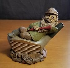 Tom Clark Gnome MULLIGAN Edition #84 1987 Signed! Cairn COA Story Card Golf Art