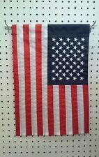 "12"" X 18"" Usa Embroidered Polyester Garden Flag"