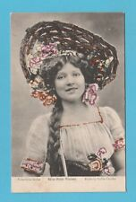 ACTRESS  -  VALENTINES  POSTCARD  -  MISS  RUTH  VINCENT   ( A )