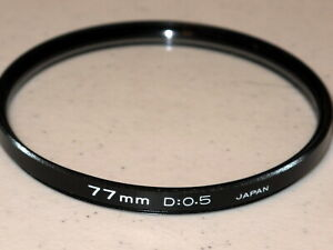 77mm  D:0.5 Diapter Filter (Kenko) EXCELLENT +++ with Case  #77m8stbw6/