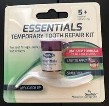 DenTek Temporary Tooth filling /teeth Repair Kit 5+ Essentials Cap/Crown/filling