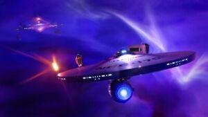 Star Trek II Mutara Nebula The Wrath of Khan WALL 30x20 Inch Canvas Framed UK