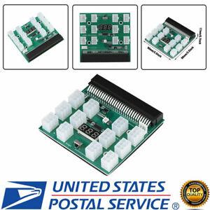 For HP PSU GPU 6PIN 1600W Mining Power DPS-1200FB 12Ports Breakout Board