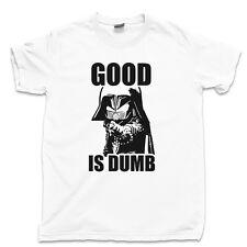 SPACEBALLS 2 T Shirt Good Is Dumb Dark Helmet Schwartz Ring Skroob Star Wars Tee