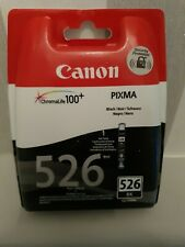 Genuine Canon CLI-526BK Black Ink Cartridge FREE 🚚 DELIVERY