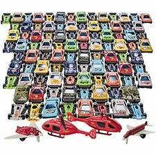 100 Pcs Car Toys Set For Boys Outdoor Activity Racing Cars Summer Fun Toy NEW