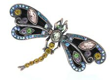 Jeweled Insect Majestic Dragonfly Ciel Collectible Hinged Trinket Box